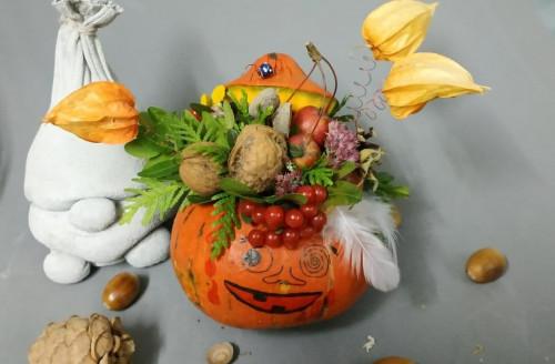 28 октября МК по оформлению тыквы к «ужасно» веселому празднику Halloween🎃