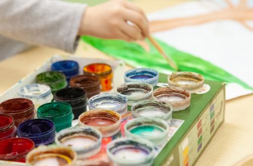 Творческие занятия в КидСити