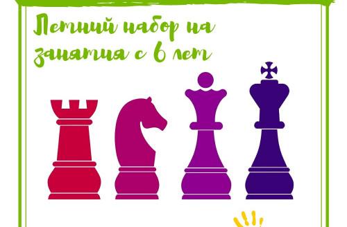 Летний набор на занятия по шахматам